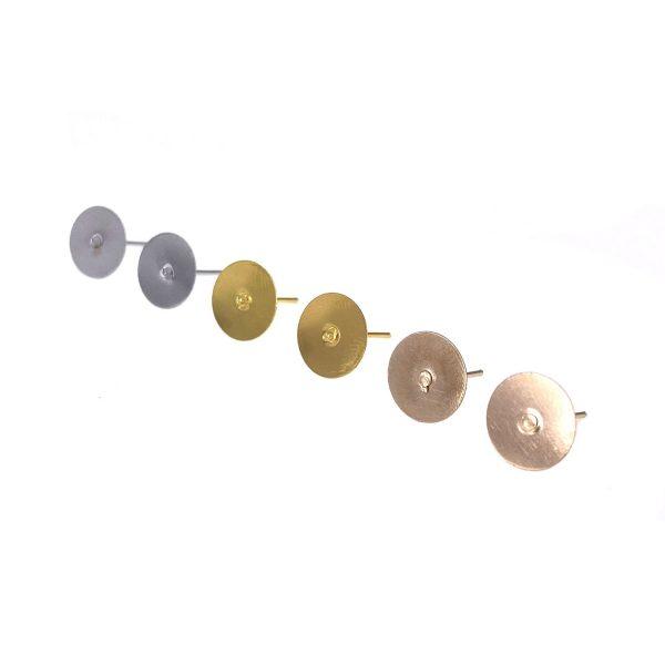 耳環配件-耳釘10MM