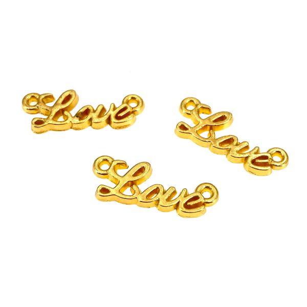 金屬掛飾首飾配件-LOVE