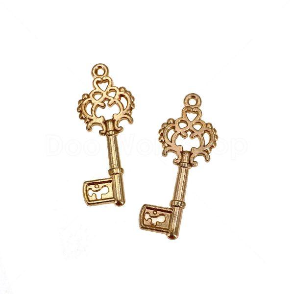 金屬掛飾首飾配件-鎖匙