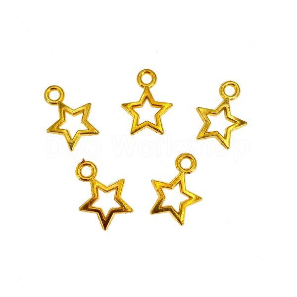 金屬掛飾首飾配件-星星