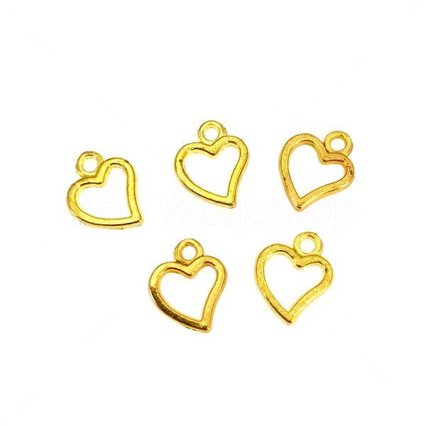 金屬掛飾首飾配件-心形2