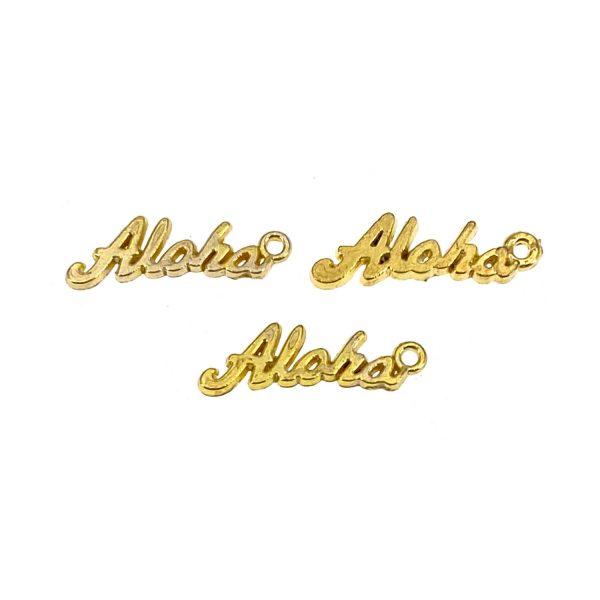 金屬掛飾首飾配件-ALOHA