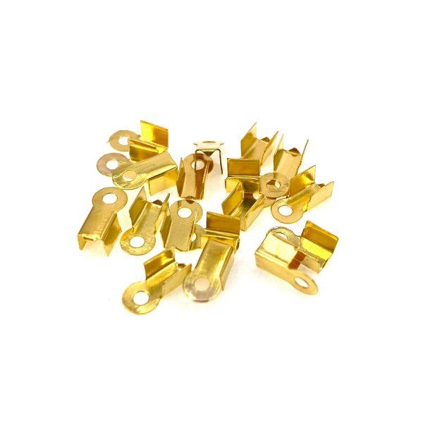 金色金屬夾片