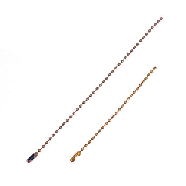 銅色珠鏈12CM/15CM