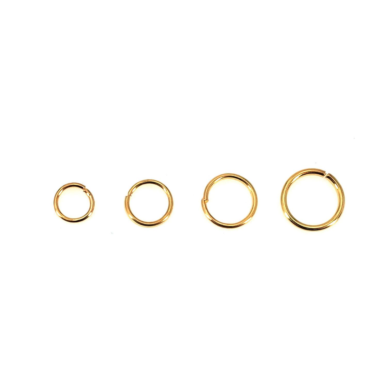 金色單圈4-8MM