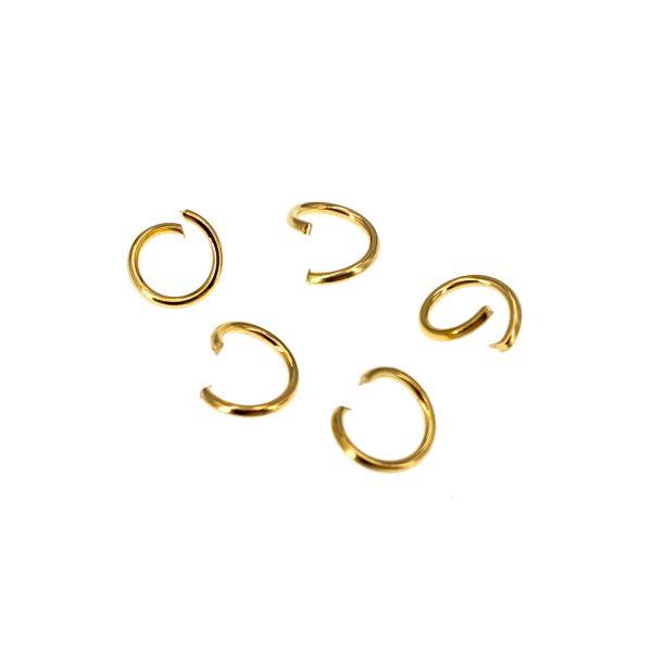 金色開口單圈7MM直徑