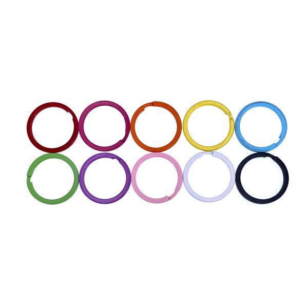 彩色鎖匙圈