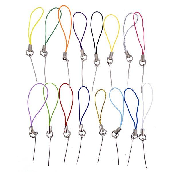 彩色9字針手機掛繩