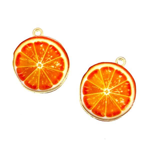 橙片合金首飾配件