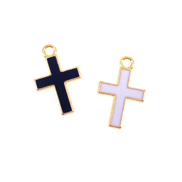 十字架合金首飾配件