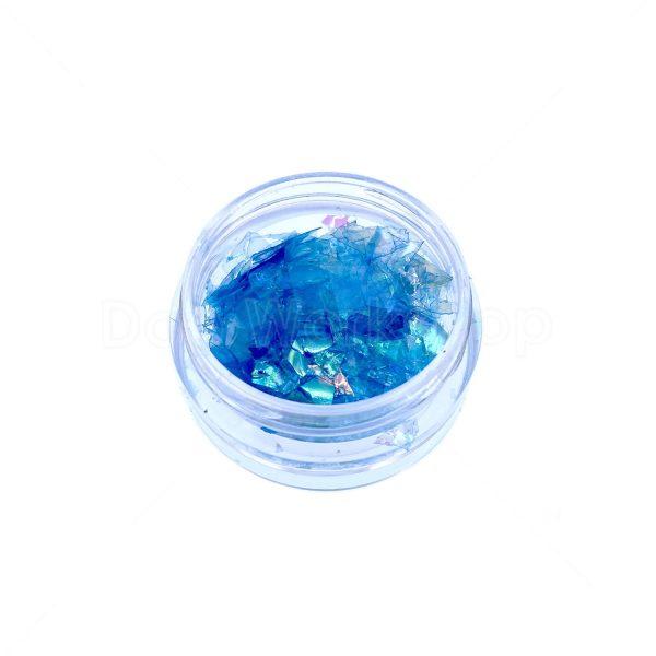 藍色貝殼紙