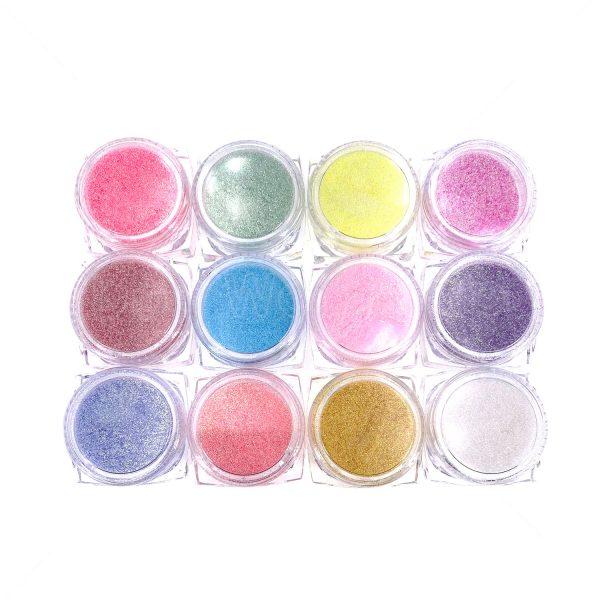 12色糖果色閃粉套裝