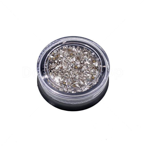 微鑽碎玻璃砂組合-銀色