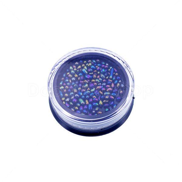 滴膠UV膠黑紫幻彩石