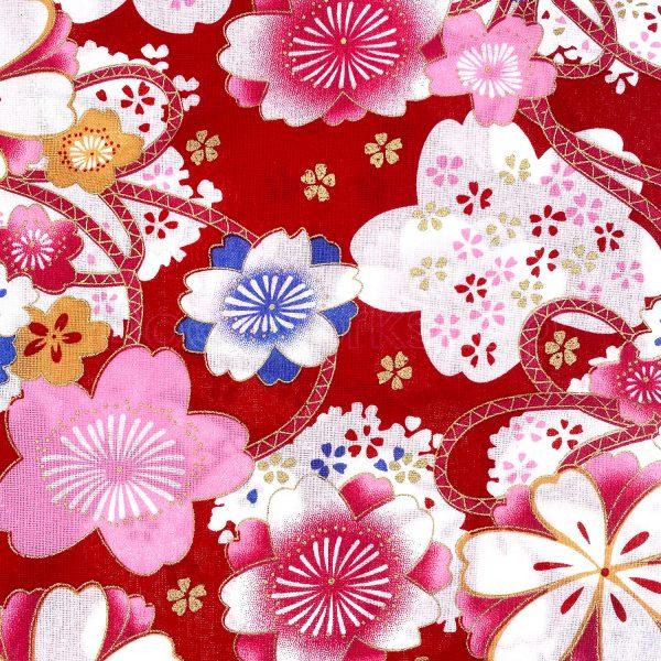 日式和風纯棉布料1