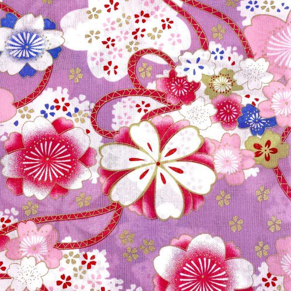 日式和風纯棉布料2