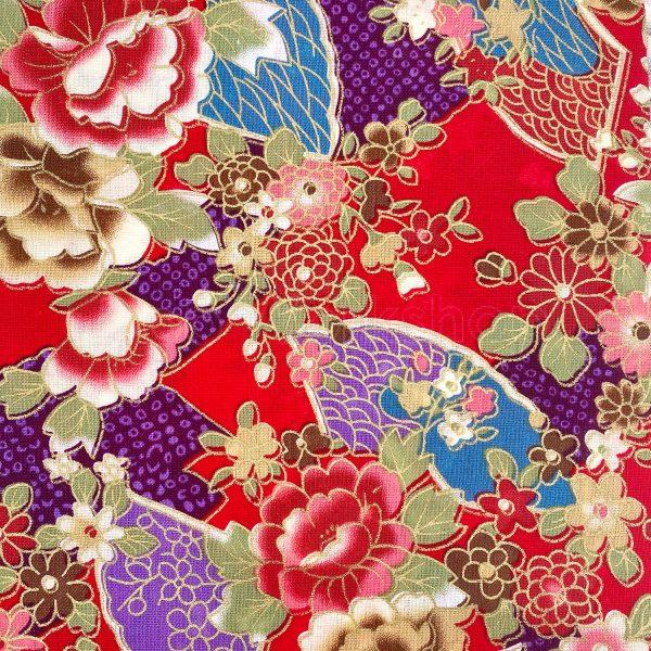 日式和風纯棉布料4