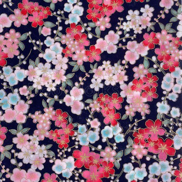 日式和風纯棉布料5