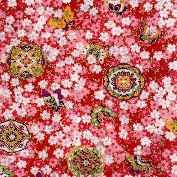 日式和風纯棉布料9