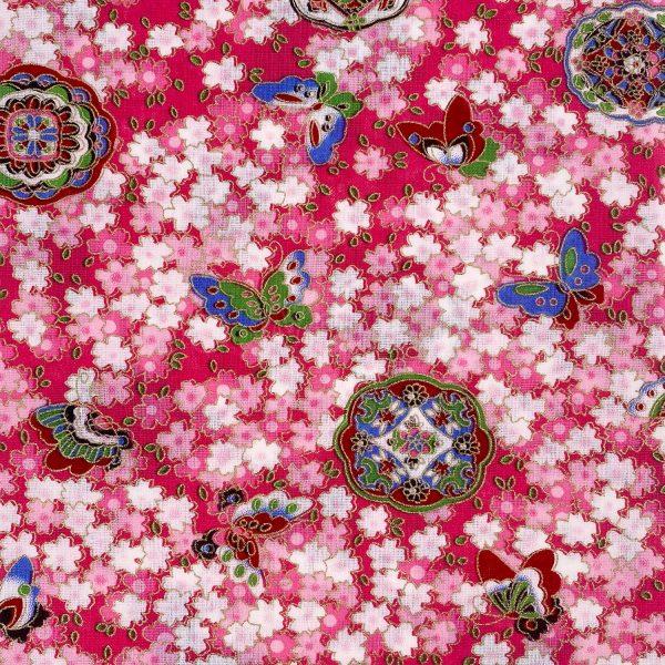 日式和風纯棉布料10