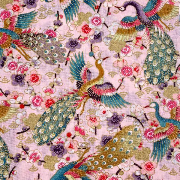 日式和風纯棉布料11