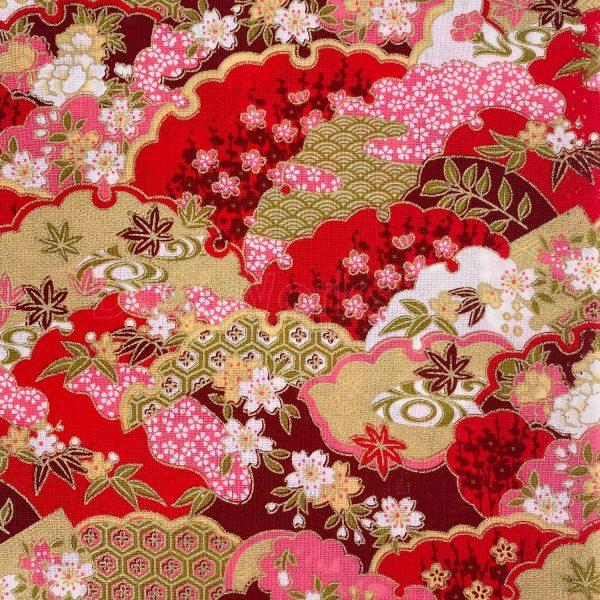 日式和風纯棉布料12