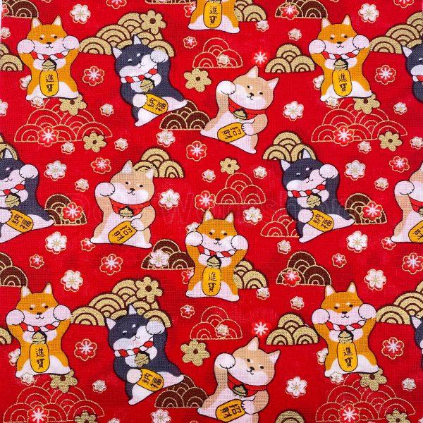 日式和風纯棉布料15