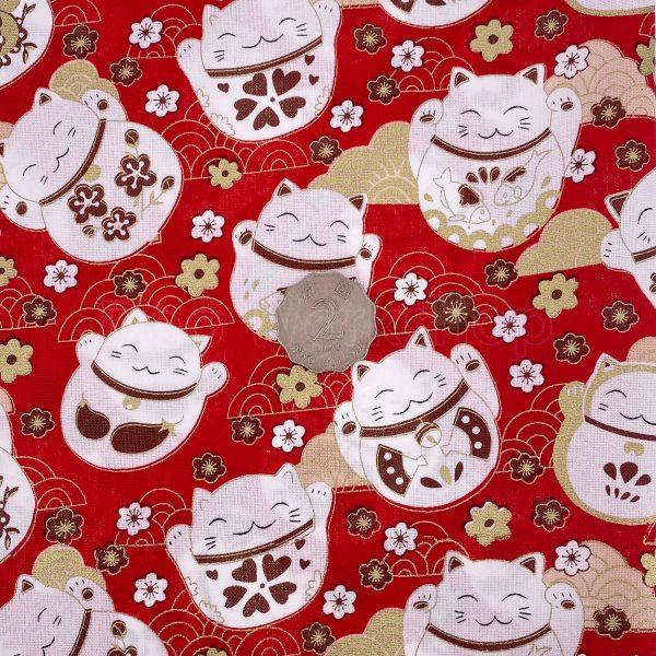日式和風纯棉布料17