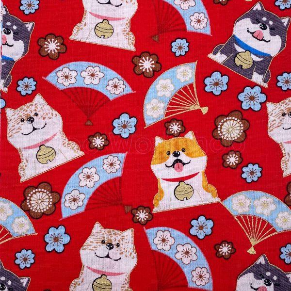 日式和風纯棉布料18