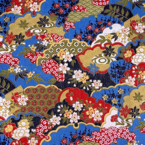 日式和風纯棉布料20