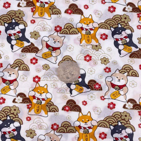 日式和風纯棉布料22