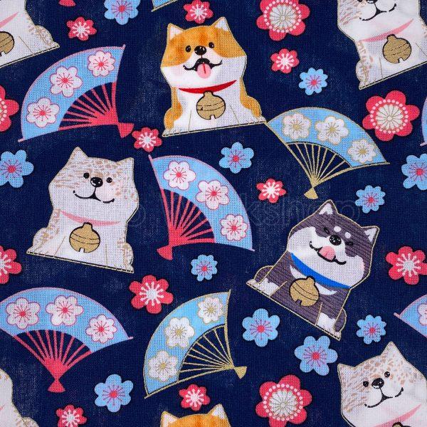 日式和風纯棉布料23