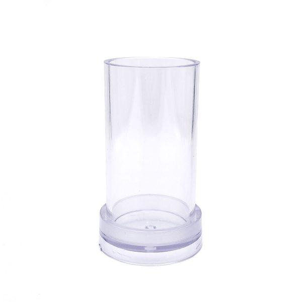 圓柱蠟燭模具5X10CM