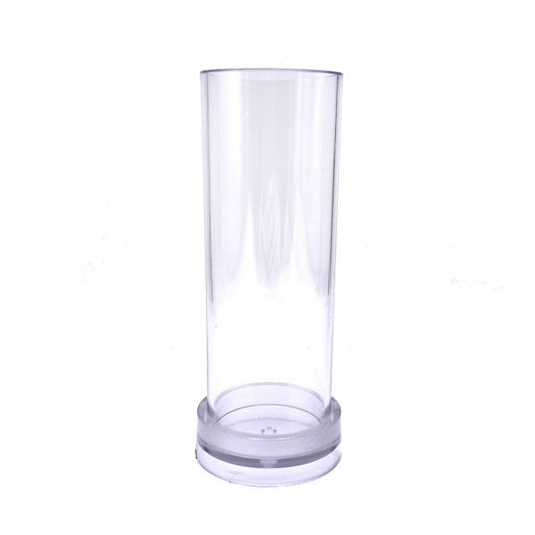 圓柱蠟燭模具5X15CM