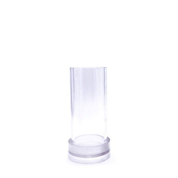 圓柱蠟燭模具4X10CM