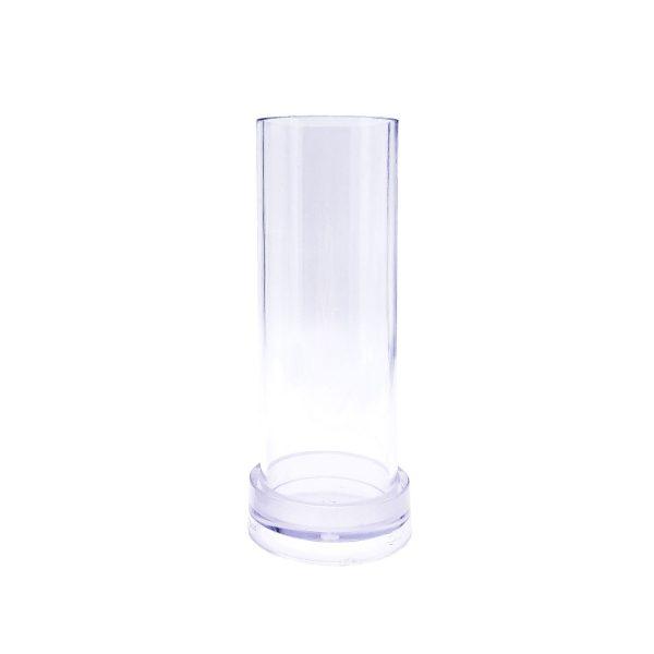 圓柱蠟燭模具6X15CM