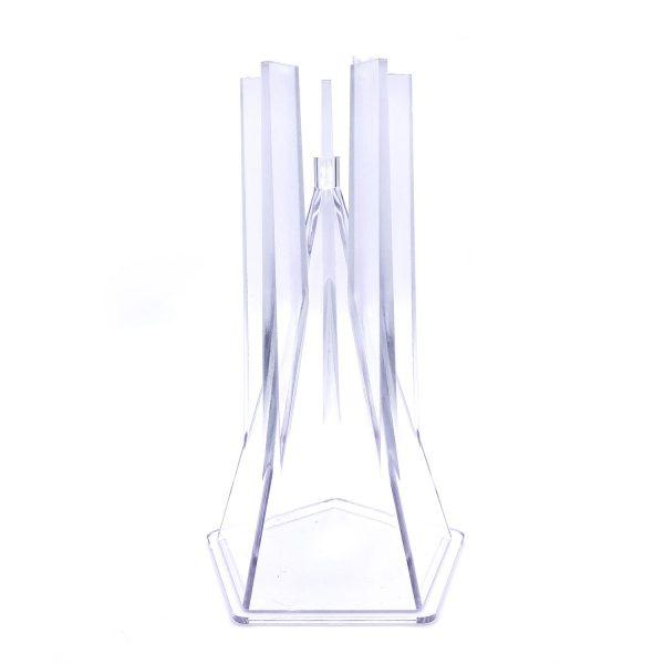 五角錐蠟燭模具7.5X12.3CM