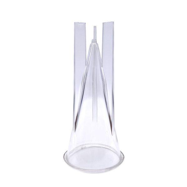 圓錐蠟燭模具6.3X14.2CM