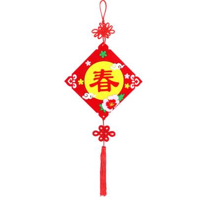 新年不織布春掛飾DIY材料