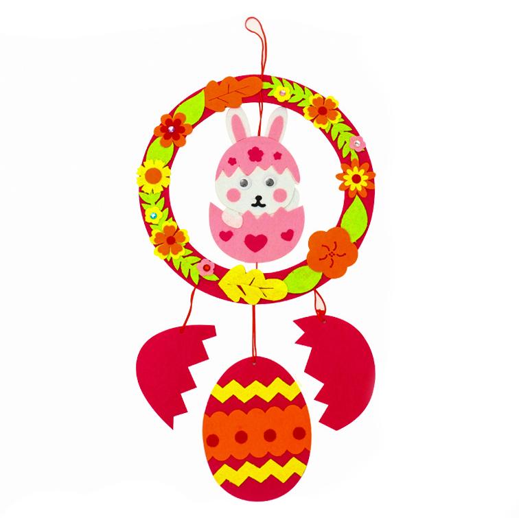 【預購】新年牛年不織布diy材料包2