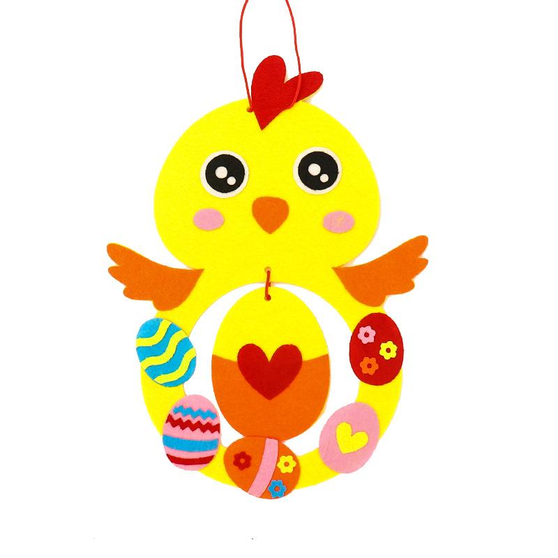 【預購】新年牛年不織布diy材料包3