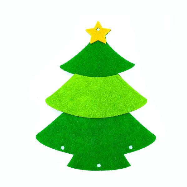 不織布聖誕樹X3