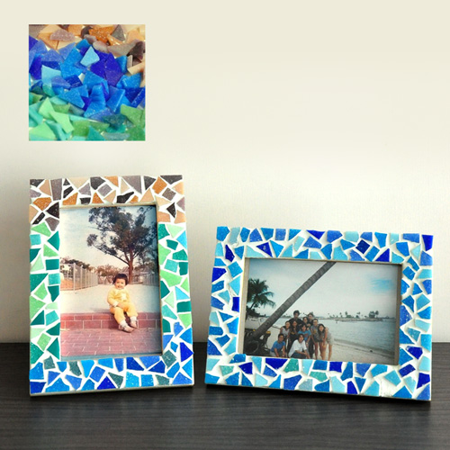 馬賽克相架DIY材料包-5款顏色選擇
