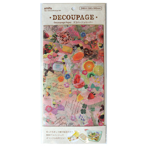 Amifa 蝶古巴特 decoupage paper