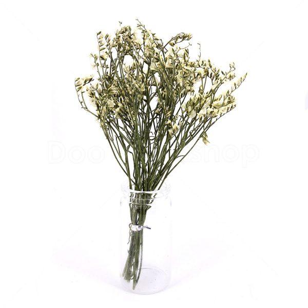 黃色水晶草小束乾花