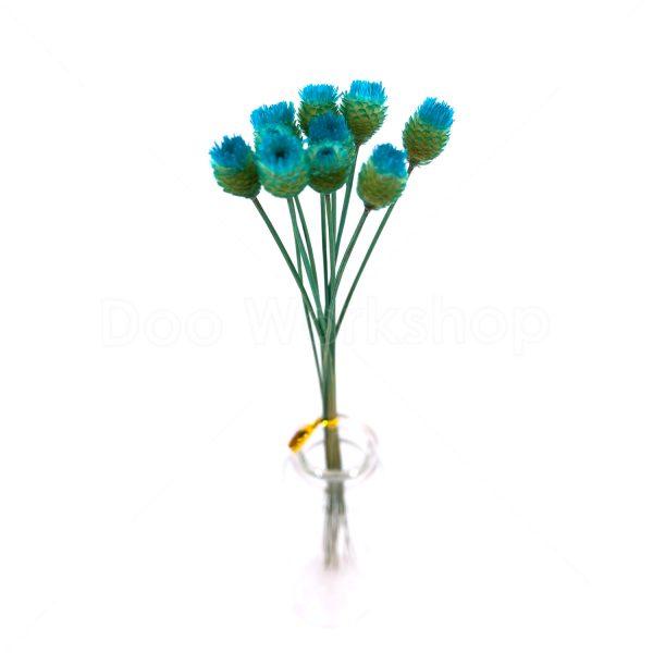 蒂芙尼藍快樂花乾花