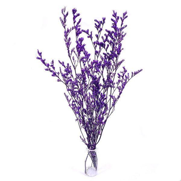 紫色情人草乾花花束