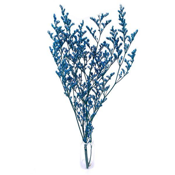 藍色情人草乾花花束