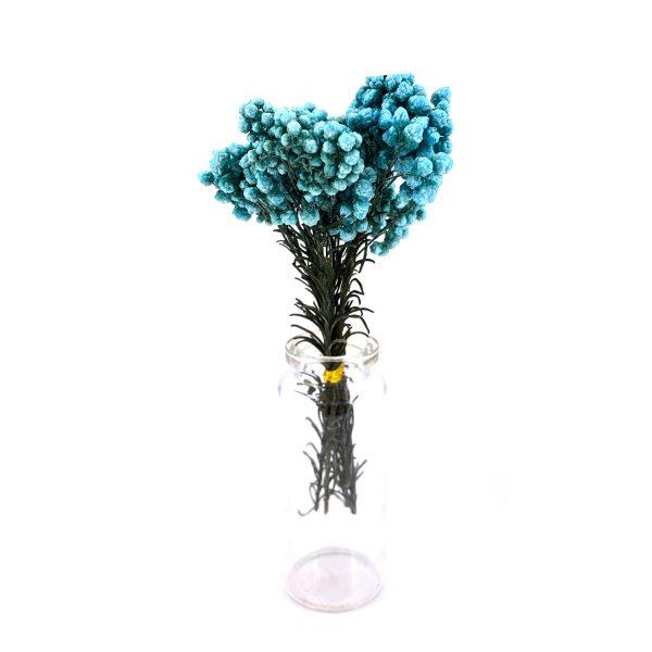 蒂芙尼藍小米花乾花