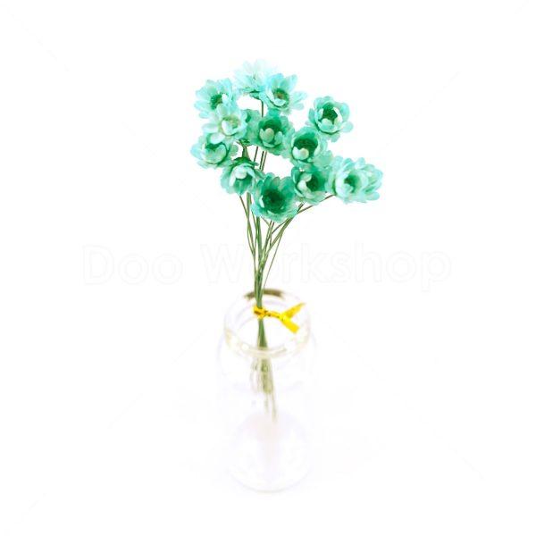 淺綠色小星花乾花